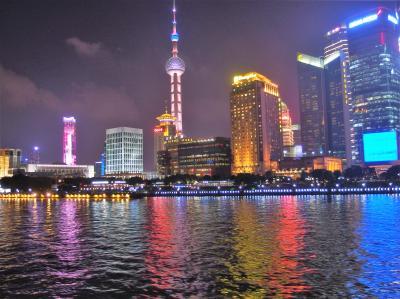 天に突きさすかのような鋭鋒群 黄山と屯渓呈坎八卦村5日間♪ 上海豫園、夜景と帰国まで