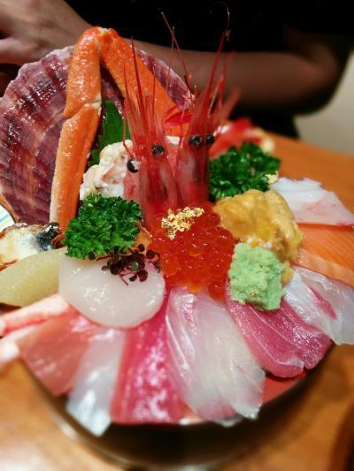 金沢へ海鮮丼を食べに。