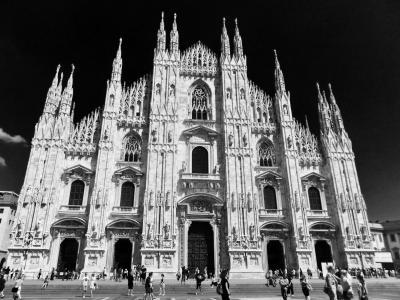 親子水入らず-おとん初ヨーロッパ 5日目:イタリア/ファッションの街ミラノ