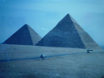 憧れのピラミッドへ