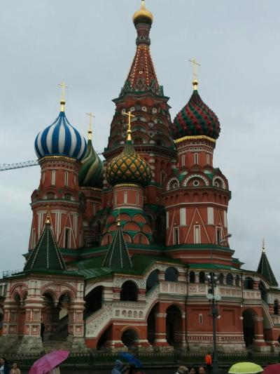 LaLaLa 自由に楽しむシニア一人旅 ロシア・バルト三国・フィンランド(モスクワ)