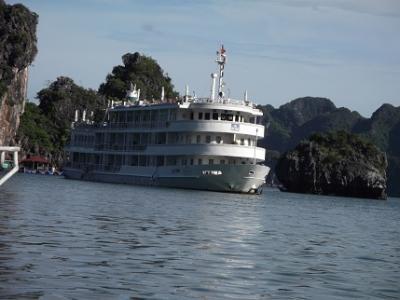 2017ベトナム・カンボジア旅行その2 Au Co cruise