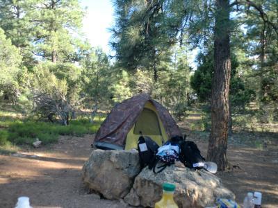 グランドキャニオンでキャンプ 2泊