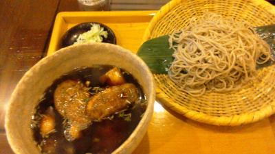 鶴舞でおいしいお蕎麦をいただきました。