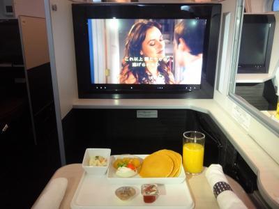 JALビジネスクラスで行くハワイ ② 成田ーハワイ・ホノルル間を日本航空(JAL SKY SUITE 787 (SS8))のビジネスクラスに搭乗(^^♪ 機内サービスやアメニティ等のご紹介