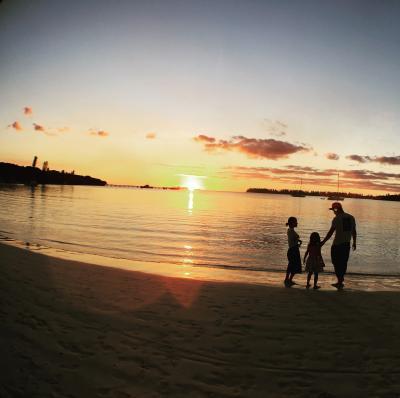 楽園!8月の子連れニューカレドニア(4&10歳) (3-4日目/イルデパン ウレテラ)
