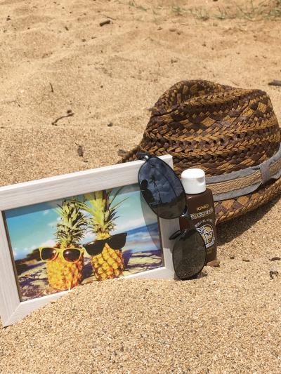 10th  anniversary Hawaii 2日目 ハレイワビーチでホヌを見た❗