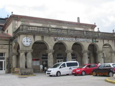 イベリア周遊の旅(27)サンチャゴ駅。