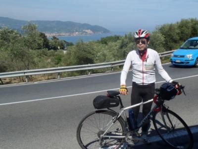 D4 サボナからインぺリアへ  快晴のリビエラ海岸を走り抜ける