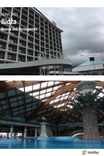 サラエボのお隣イリジャのスパホテル『Hotel Hills Sarajevo Congress & Thermal spa resort』