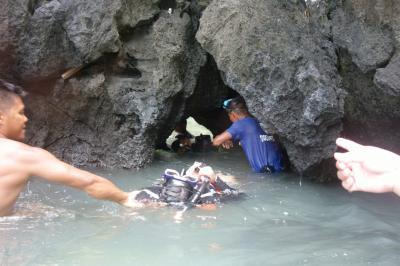 """駐在のついでに 【その54】フィリピン遠征� エルニド3日目 Tour A で、続いて """"Secret Lagoon""""へ!"""