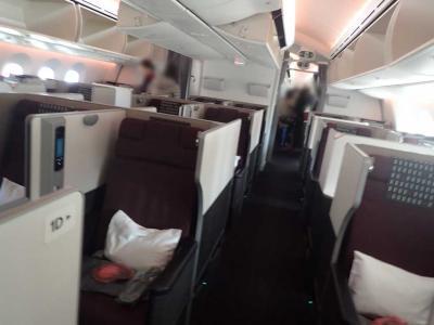 平渓天燈節・台北1☆JAL 成田~台湾桃園 ビジネスクラス搭乗記・サクララウンジ
