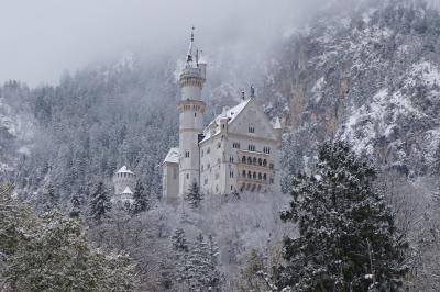 雪に包まれた白亜の『ノイシュバンシュタイン城』は、虚無の象徴であった〜