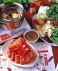 北京のしゃぶしゃぶ料理。