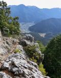 京都大原 金毘羅山に登る  そして風邪が治る