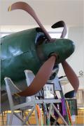 Solitary Journey [1346] プロペラが曲がっていた日本海軍最強戦闘機'紫電改'&19年ぶりの入野海岸<紫電改展示館>高知県愛南町