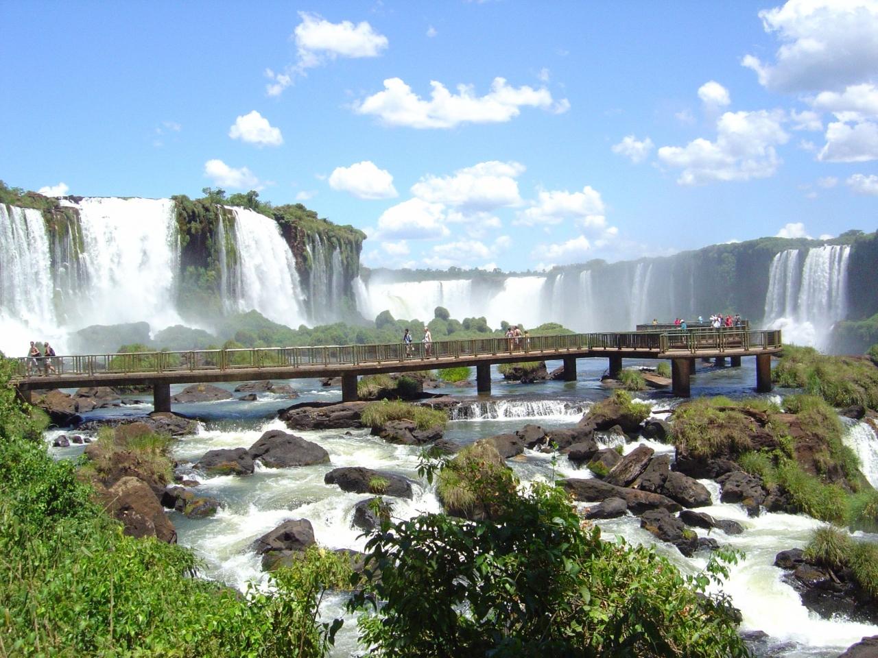 世界三大瀑布『イグアスの滝』ブラジルサイド