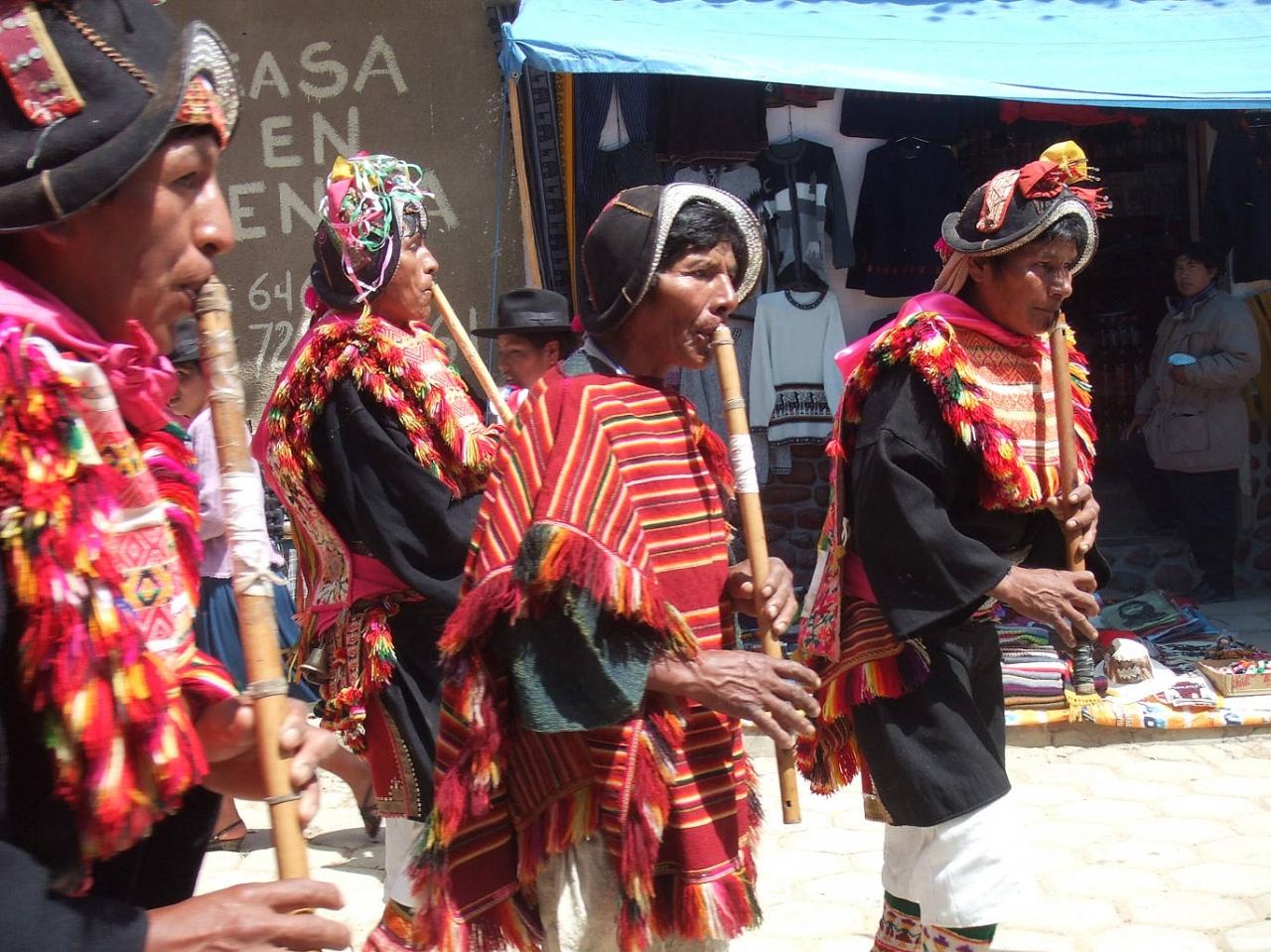 アンデスのお祭り−タラブコのカーニバルと日曜市 #7-南米ボリビア国