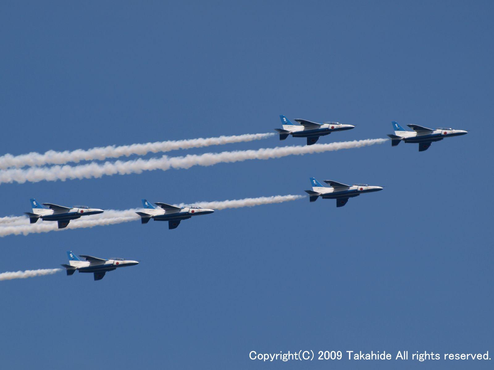 横浜開港150周年 第28回 横浜開港祭 ブルーインパルス展示飛行