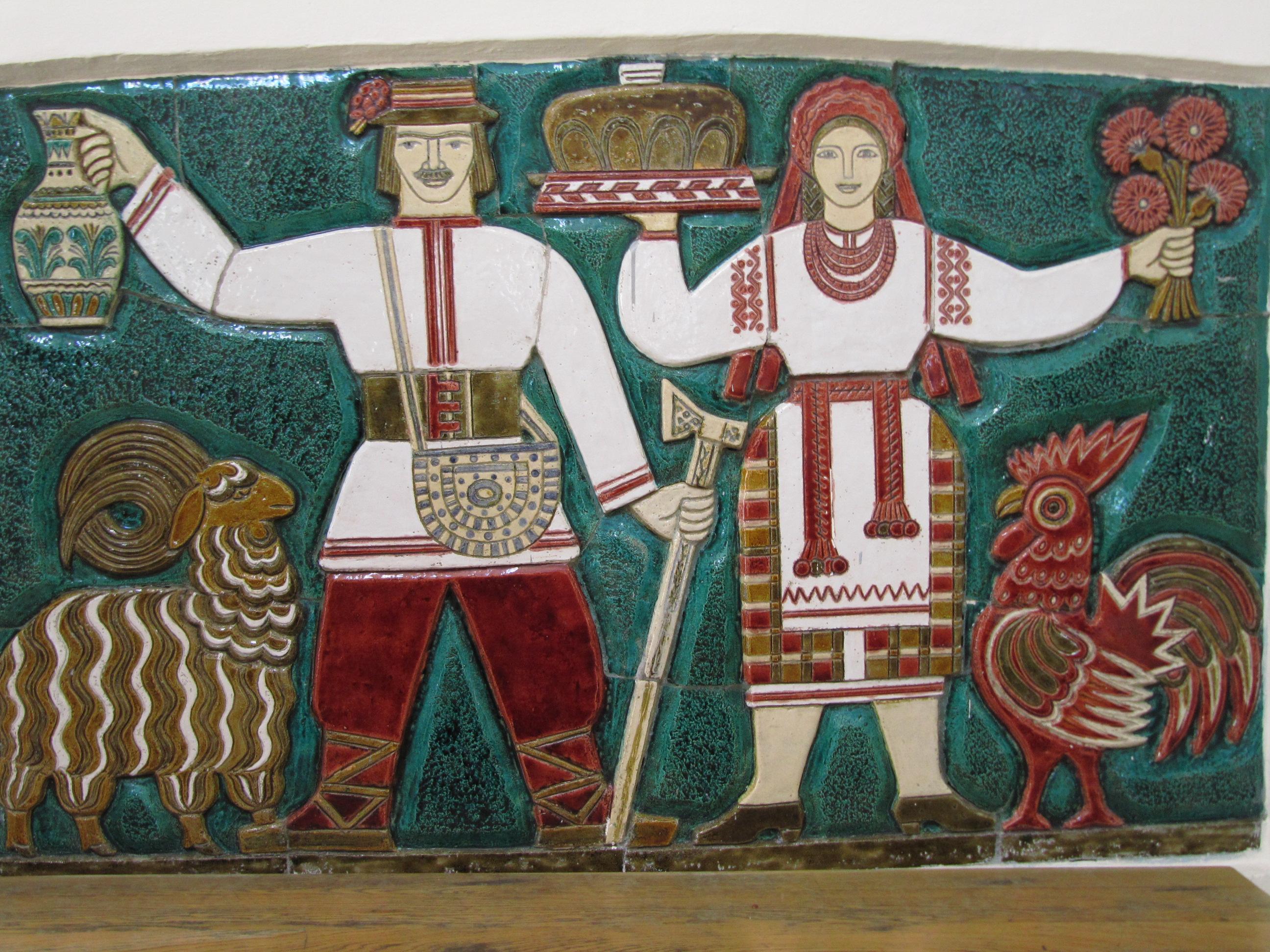 2009年ウクライナ旅行第4日目(4)キエフ:国立ウクライナ民俗装飾美術博物館(1)我ながら飽きない民俗博物館巡り