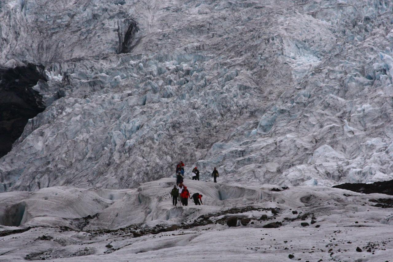 アイスランドの旅�初めて見る氷河に感動!...