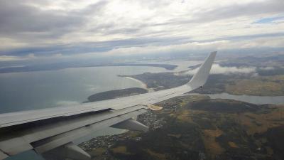 シドニー空港からホバート空港へ