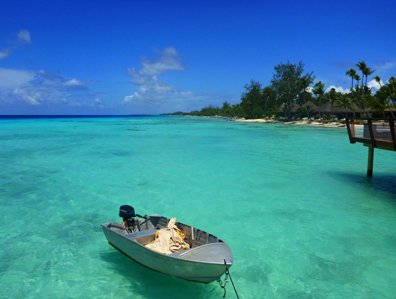 ボラボラ島・ランギロア島 8日間の旅