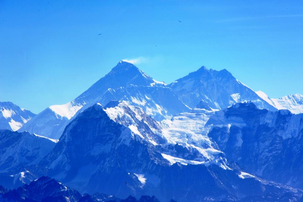 感動の旅ネパール(19)  ヒマラヤ遊覧
