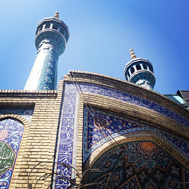 暑假の旅2 (7) テヘラン編