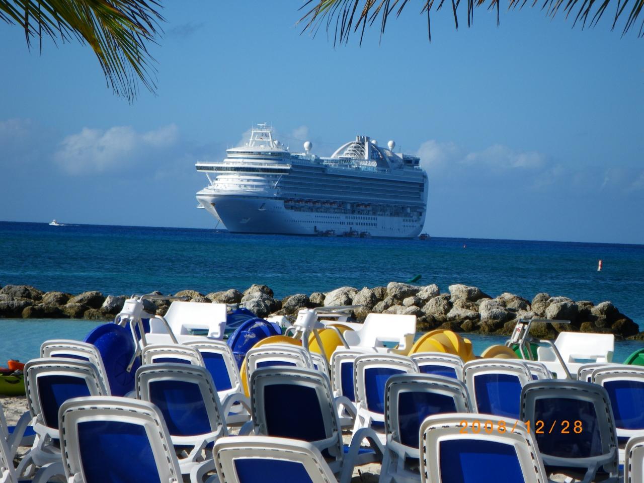 2008 西カリブ海クルーズ 年末年始...