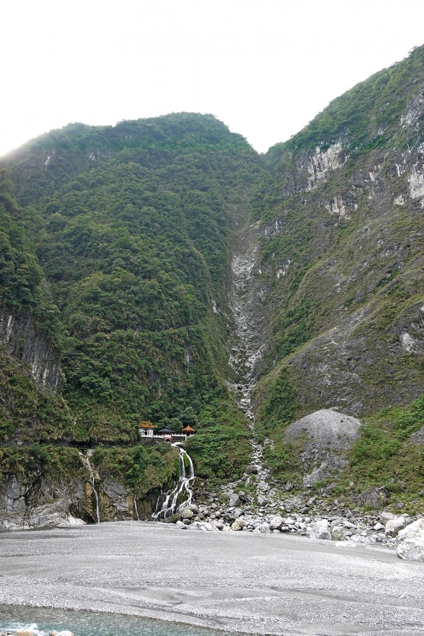 台湾新年一人旅6-太魯閣峡谷バス...