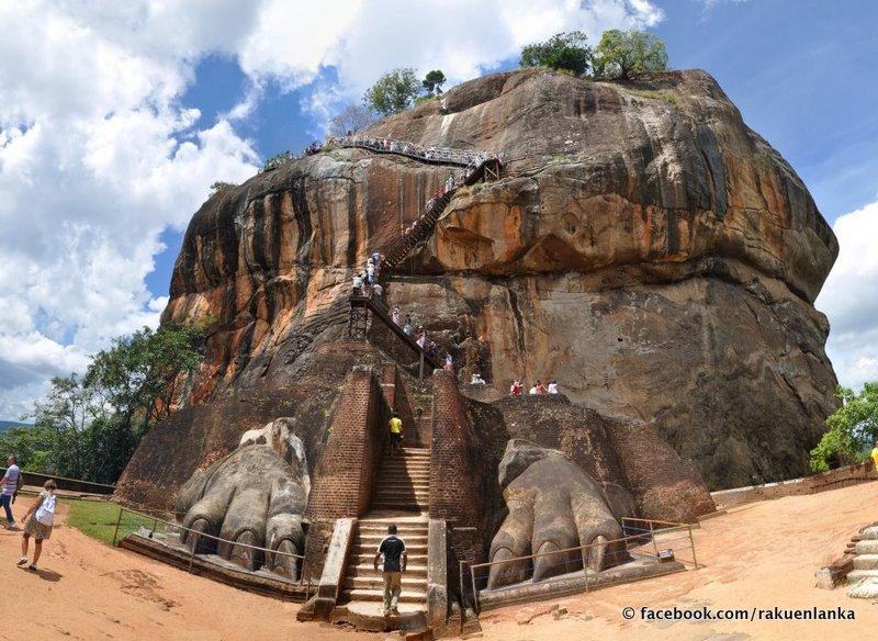 世界遺産 古代都市シーギリヤ スリランカの旅