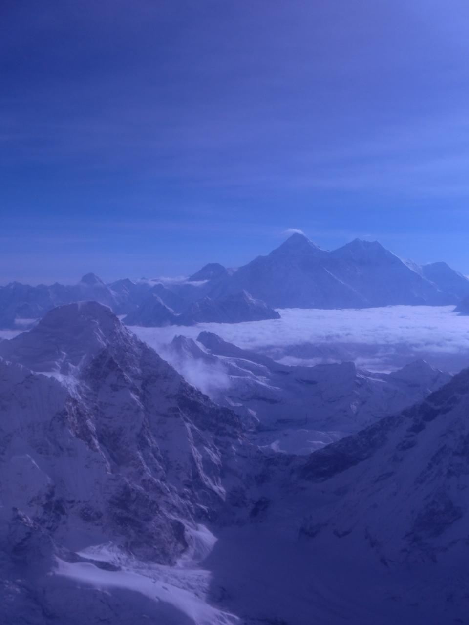 エベレストが見えた!!! 遊覧飛行リベ...