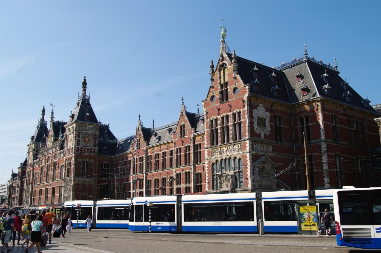 アムステルダム日帰りブラブラの旅