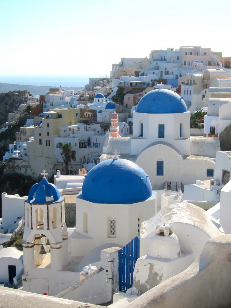 サントリーニ島(ギリシャ)Delayed trip�