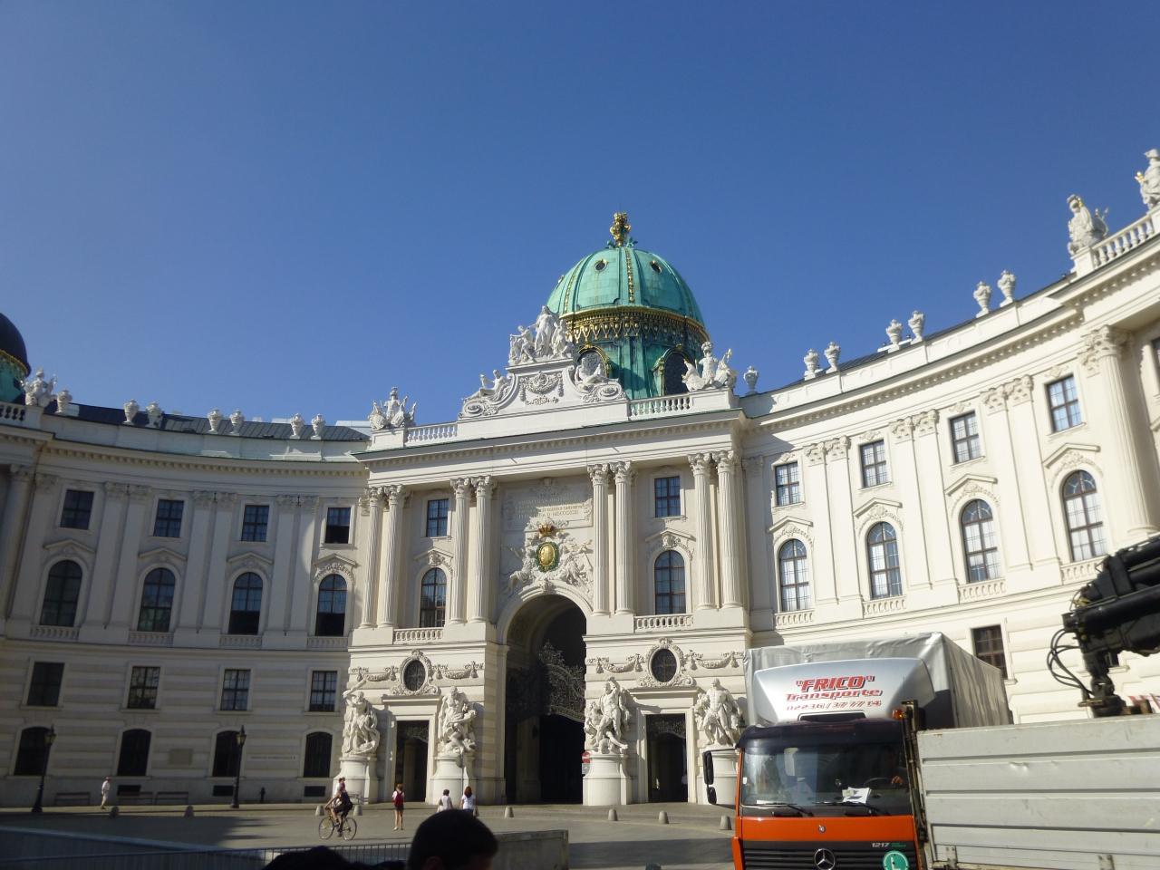 ウィーン観光(王宮)