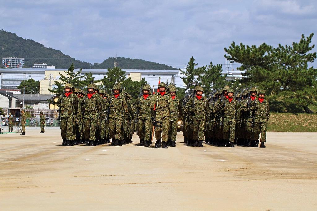 陸上自衛隊 中部方面隊創隊53周年記念行事 伊丹駐屯地