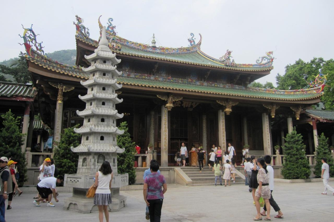 2011初秋、中国旅行記20(16)南普陀寺、山...