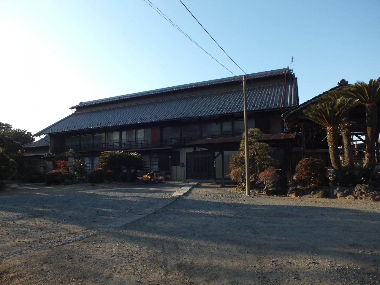 田島弥平旧宅を拝見