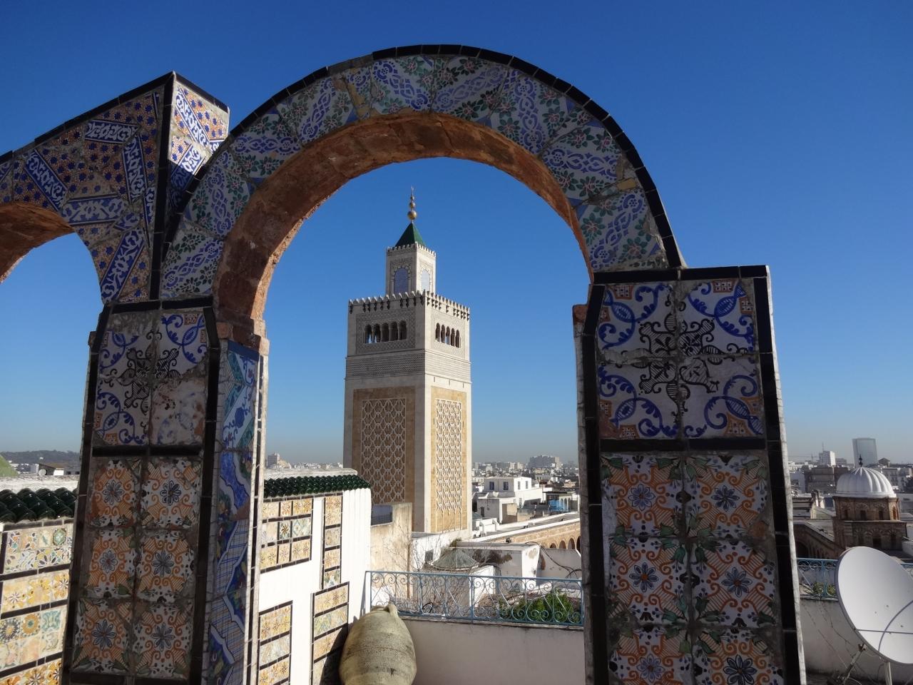 チュニスの旧市街(チュニジア) 2014.2.15