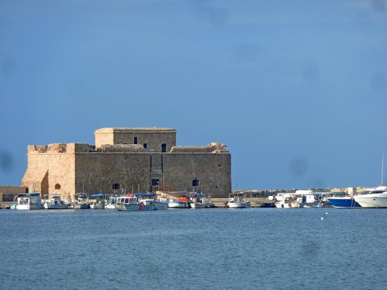 年末年始キプロス旅行6-元旦のPafosの海岸...