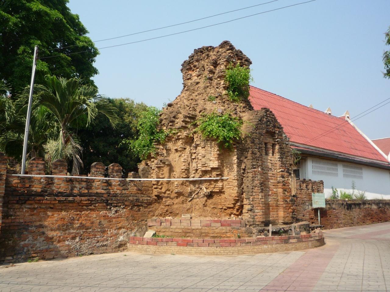 タイ訪問記6 「北タイ紀行4:城壁に囲まれ...