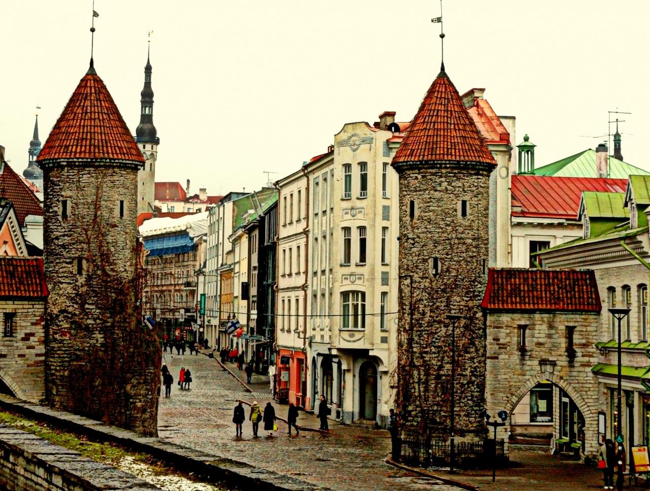 �厳寒!?のバルト三国。 エストニアの首...
