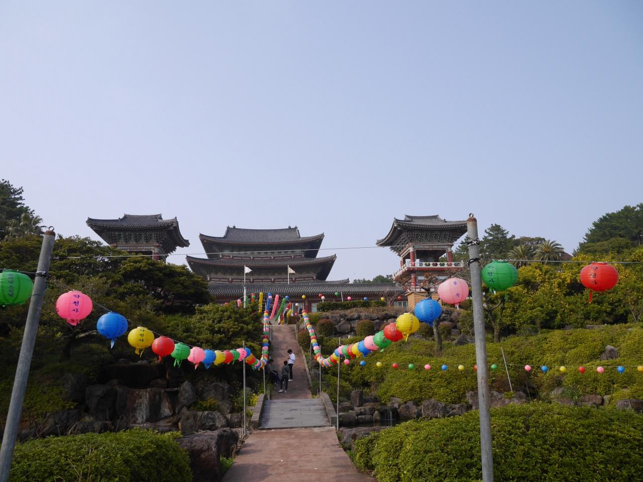 韓国34回目 〜済州島1日目・�薬泉寺〜