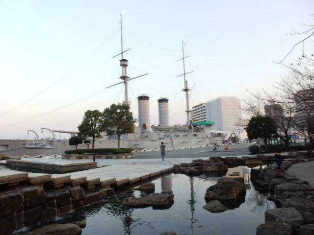 日本の旅 関東地方を歩く 神奈川横須賀市の三笠公園(みかさこうえん)周辺