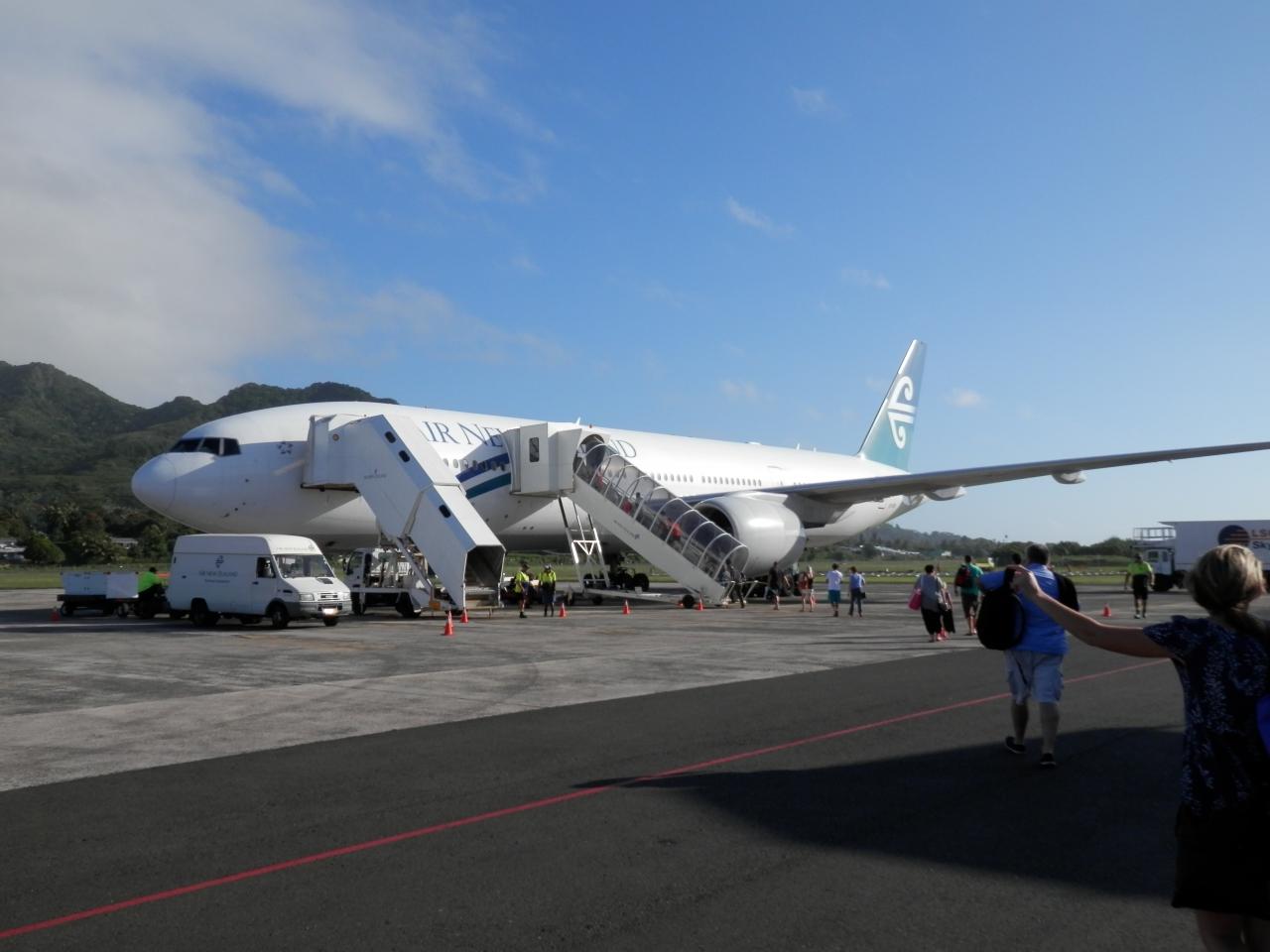 UA特典マイルでクック諸島ラロトンガへ�NZ...