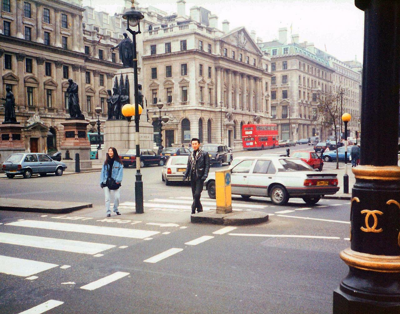 歩くだけで楽しかったロンドンの街並