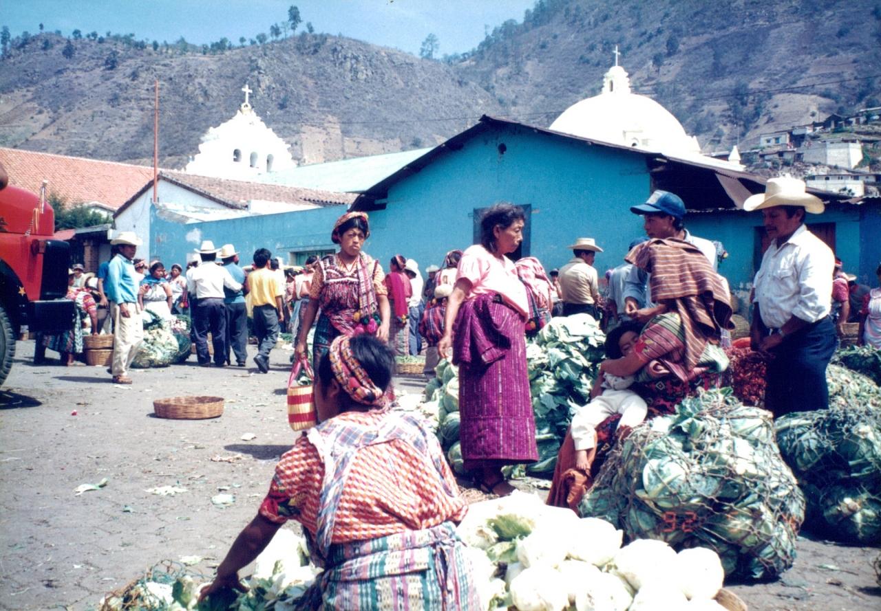 グアテマラ★ぶらり旅 先住民の村でほっこり