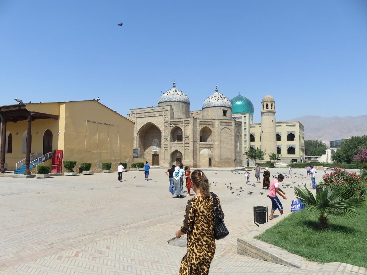 ウズベキスタン周遊&タジキスタン陸路日...