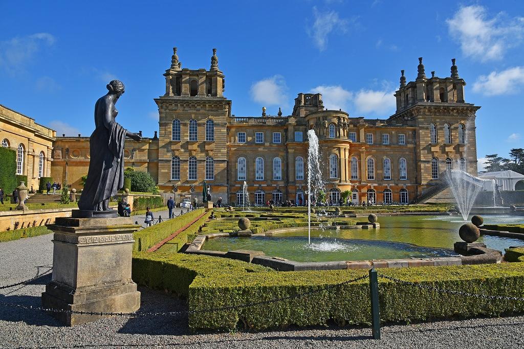 秋の英国旅行(6)−【世】ブレナム宮殿-